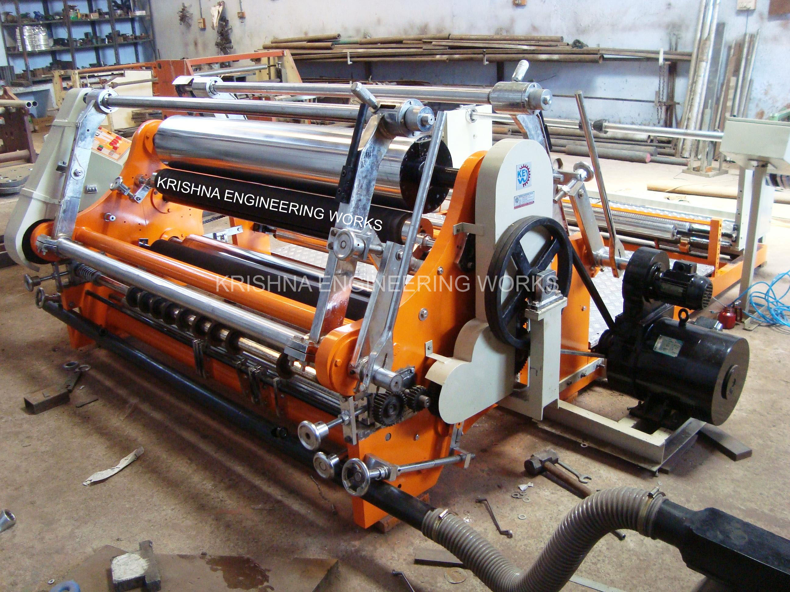 "<a href=""http://www.krishnaengineeringworks.co.za/slitter-rewinder-machine/"">Slitter Rewinder Machine</a>"